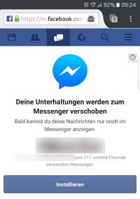 Wie erkenne ich ob ich bei facebook messenger blockiert wurde