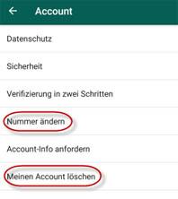 Nummer whatsapp mitteilen neue allen Neue Handynummer